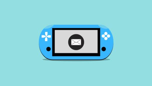 【PSVita】EメールアプリにGmailを登録し、スマホやPCに画像を転送する手順